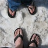 Flip Flop And Snow