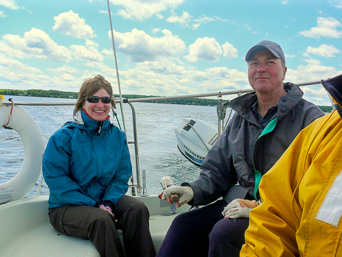 Sailing in Brockville, ON