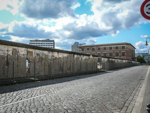 Remains of The Berlin Wall