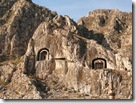 Pontic Tombs in Amasya, Turkey