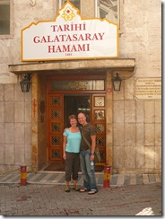 Outside The Hamam