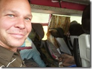 J On The Dodgy Bus, Manakamana to Pokhara