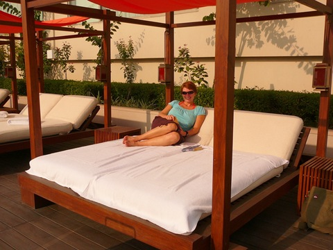 We Returned To Lounge Around Poolside Lounger Ista Amritsar & Poolside-beds \u0026 Poolside Bed Sandals Ochi