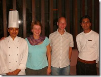 With Chef and Server, Ista Amritsar