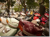 Scooter Parking, Hanoi