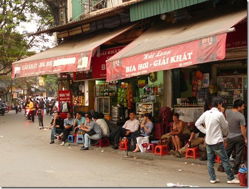 Fresh Beer Shop, Hanoi