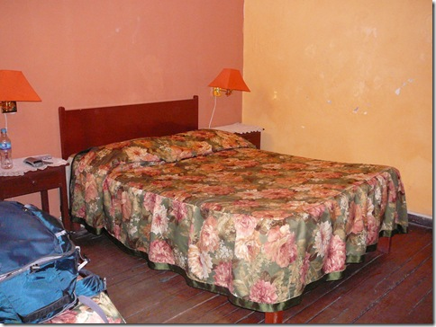Bed at Hostel Verona, Arequipa Peru