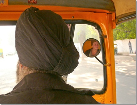 G In The Autorickshaw, Delhi