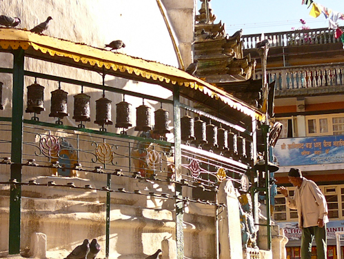 Prayer Wheels, Kathmandu, Nepal