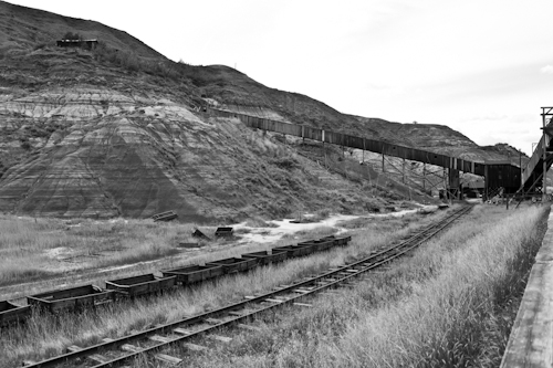 Atlas Coal Mine, East Coulee, Alberta