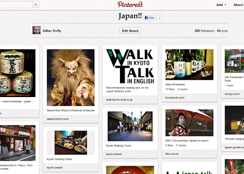 Japan Board On Pinterest
