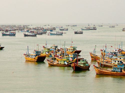 Fishing Boats, Mui Ne, Vietnam