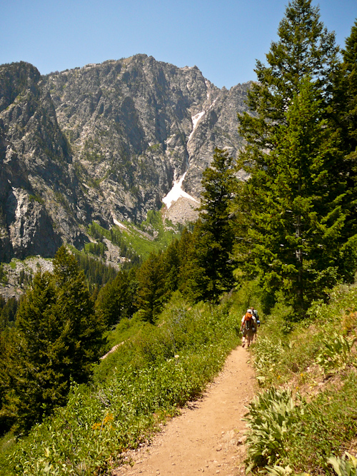 Death Canyon, Teton Crest Trail, Grand Teton National Park, Wyoming