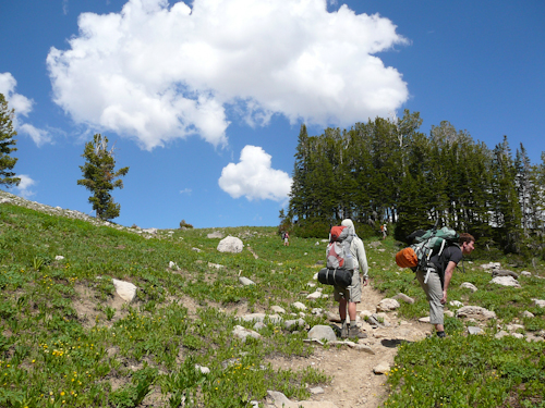 Mt Meaks Pass, Teton Crest Trail, Grand Teton National Park, Wyoming