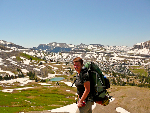Alaska Basin, Teton Crest Trail, Grand Teton National Park, Wyoming