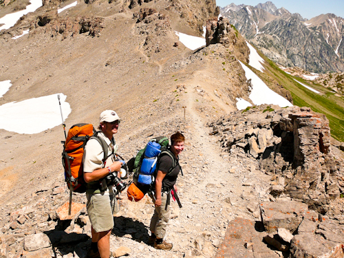 Teton Crest Trail, Grand Teton National Park, Wyoming