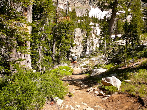 South Cascade Canyon, Teton Crest Trail, Grand Teton National Park
