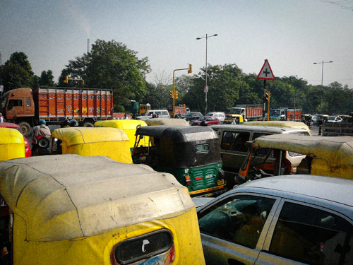 Delhi Traffic