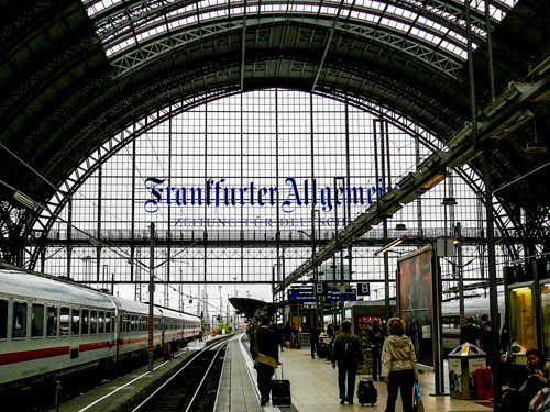 Frankfurt Rail Station