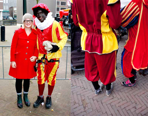 Trudy and Zwarte Piet