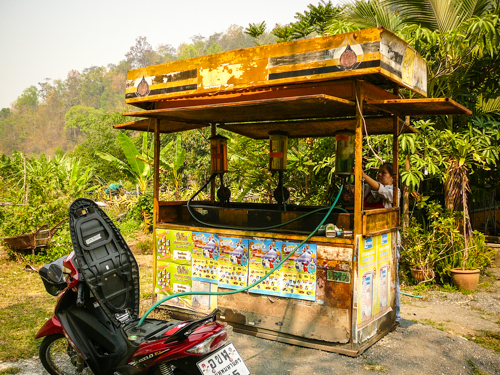 Stopping For Gas, Thailand