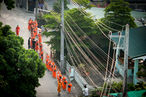 Thailand Monks
