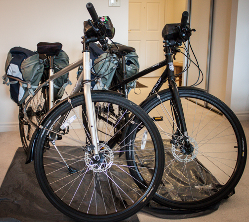Bikes for cycle touring Europe