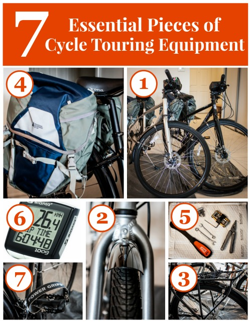 Essential Equipment for Cycle Touring